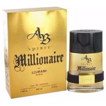 Perfume Spirit Millionaire Lomani Edt 100ml Original