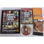 Gta San Andreas Completo + Bradygames Guide Ps2 Original