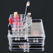Organizador Porta Maquiagem Pincel Batom Acrilico 4 Gavetas!