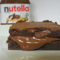 Brownie De Chocolate Nutella, 20 Unidades - Bbrownie