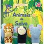 Livro Interativo Com Dedoches Animais Da Selva