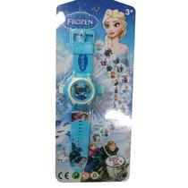 Relógio Infantil Frozen Muda Foto