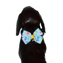 Gravata Borboleta Luxo Cachorro - Acessorio Pet Cães Gatos