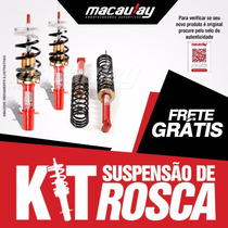 Gol G5 / G6 - Suspensão Rosca Regulável Macaulay Oficial