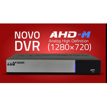Dvr - Hvr - Nvr - 08 Ch Ahd Luxvision Ddns - Hdmi - Celular