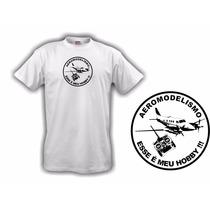 Camiseta Aeromodelismo Meu Hobby - Hobbie Brasil