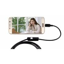 Câmera Inspeção Sonda Endoscópica Android 6 Leds Usb 1.5m