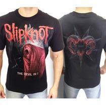 Camiseta De Banda - Slipknot - The Devil In I