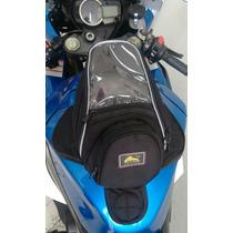 Bolsa De Tanque Moto Imã Mochila Lateral Honda Suzuli