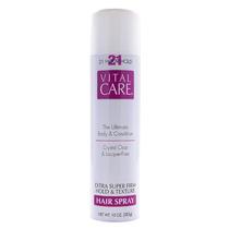 Vital Care Hair Spray De Cabelo 21 Hour Hold 283g