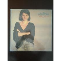Lp Marina Lima - Marina Virgem. Com Encarte.