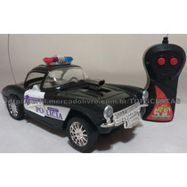 Único No Ml!carro Controle Remoto Polícia 3 Funções Luz