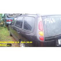 Coletor Escape Marea Wk 98/99 Não Compre S/ver