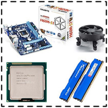 Kit Placa Mae Asus P8h61-m Lx2 + Core I5 3330 + 4gb Kingston