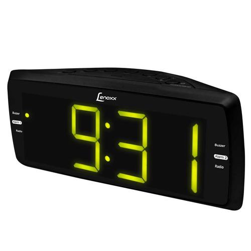 Rádio Relógio Lenoxx C / Rádio Am / fm, Despertador Rr736