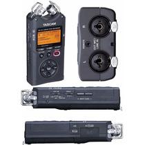Gravador Voz Tascam Dr-40 Digital Portátil Áudio 2gb + Tripé