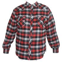 Camisa De Flanela Xadrez Masculina