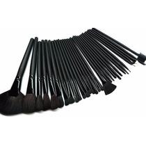 ** Kit 32 Pincéis Maquiagem Com Case- Proficional /pessoal