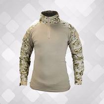 Blusa Combat Shirt Com Cotoveleira Removivel Desert