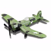Miniatura Em Metal F4u-1d Corsair Forces Sky Squad Sem Pé