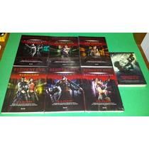 Resident Evil - 7 Volumes - Livros Novos - Em Português