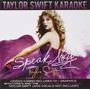 Cd/dvd Taylor Swift Speak Now Karaoke [eua] Triplo Novo