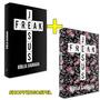 Kit Com 02 Bíblias Jesus Freak Floral + Preta Capa Dura