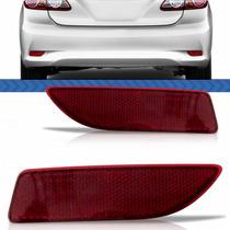 Aplique Defletor Parachoque Traseiro Corolla 2013 2012 13 12