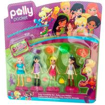 Polly Pocket Bonecas Acessórios Brinquedo Infantil