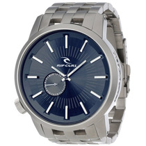 Relógio Rip Curl Detroit Navy - A2227 Azul Marinho Aço Inox