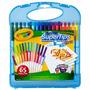 Material Escolar -maleta Crayola Canetinhas Lavaveis