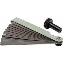 Calibrador Calibre De Folga 14 Lâminas + Regulador -galmar