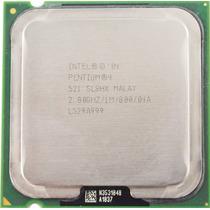 Processador Intel Pentium 4 521 2.8ghz 1m 800mhz