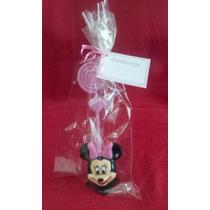 10 Lembrancinhas Minnie Mini Biscuit Porta Foto Aniversário