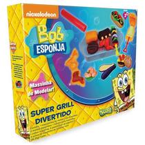 Massinha De Modelar Bob Esponja Super Grill - Sunny
