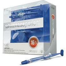 Kit Clareador Dental Whiteness 16% C/ 5 Seringas