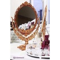 Espelho Para Maquiagem Princesa Grande Decora Penteadeira