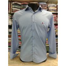 Camisas Masculinas Sociais Modelo Slim Algodão Marca Dml
