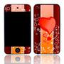 Capa Adesivo Skin372 Apple Ipod Touch 8gb 4ª G + Kit Tela