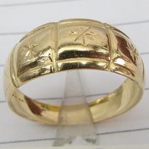 3026 Prince Joias Anel De Ouro 18k 750 Maciço Arremate