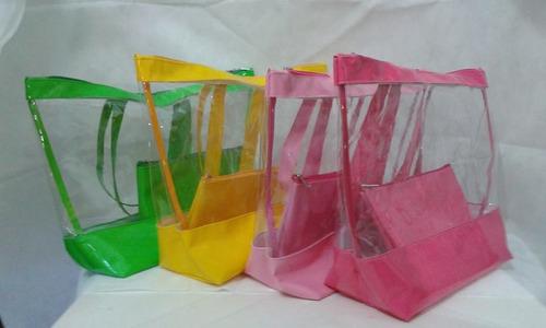 Bolsa De Mao Transparente : Comprar bolsa de praia transparente verniz e cristal