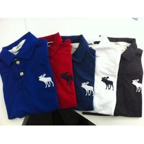 Camisa Camiseta Polo Abercrombie Masculina Frete Gratís