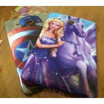 Capas Barbie E Capitao America Para Tablet
