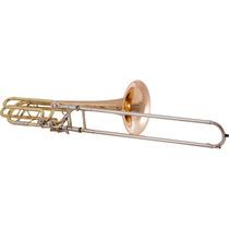 Trombone De Vara Baixo Bb/f/eb/d Hsl-830l Laqueado #h55313