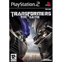 Patch Transformers The Game Ps2 Frete Gratis