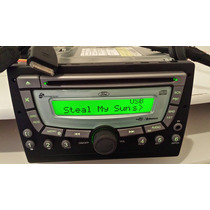 Cd Player Original Ford Fiesta Connection Usb Bluetooth