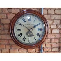 Relógio W.h.bailey&cºltd.ingles- 1880- Mecanismo Transmissão