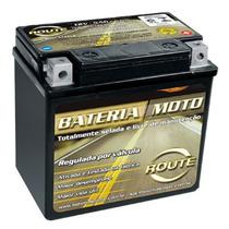 Bateria Route Xtz6ls - Yamaha Factor Ybr 125 E/k/ed * 6 Ah *