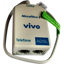 Micro Filtro Ads Duplo Modem/internet/telefone