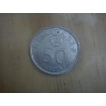 Moeda Espanha 50 Pesetas De 1975 Copa 82 R$3,50